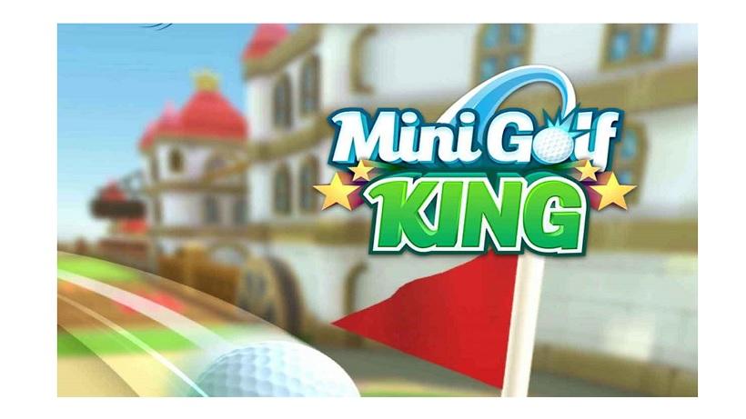Spielt in Echtzeit gegen andere Spieler Golf