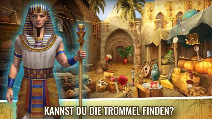 So findet ihr den Schatz im Suchspiel Geheimnis von Ägypten