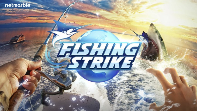 Stecht mit Fishing Strike in See