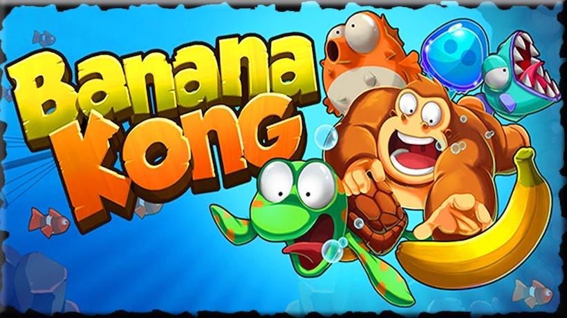 Affenstarker Spaß mit Banana Kong