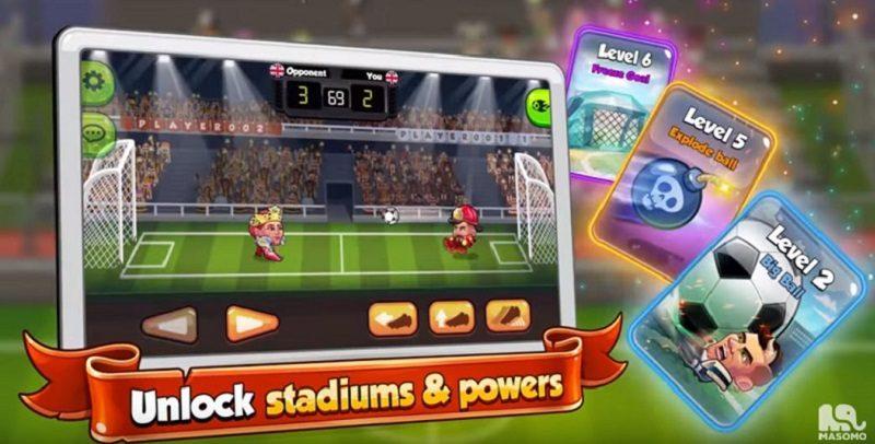 Kostenlose Spiele-Apps - das sind Bilder zum Spiel Head Ball 2