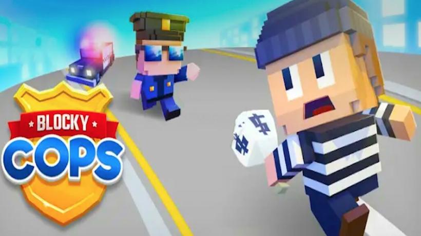 Geh mit Blocky Cops auf Schurkenjagd!