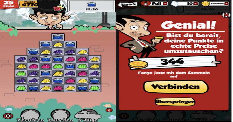 Play London with Mr. Bean