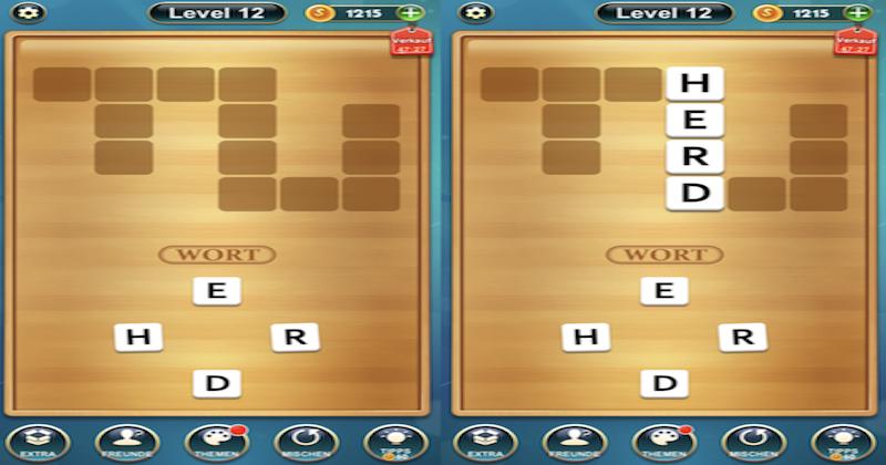 Wort Kreuz Spiele App
