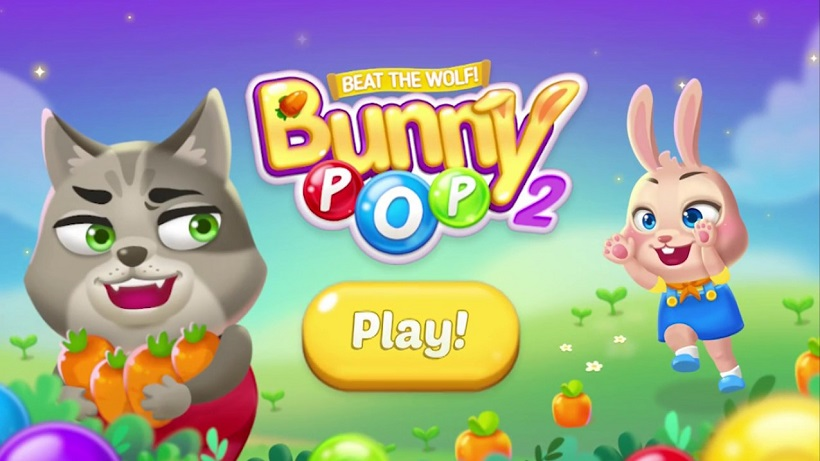So sammelt ihir Möhren in Bunny Pop 2 – Beat the Wolf