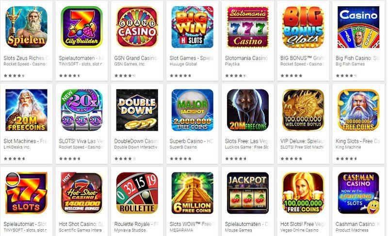 Die besten Android Slots Apps 2018