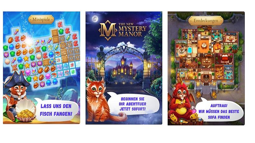 4. Season des Suchspiels Mystery Manor kommt bald