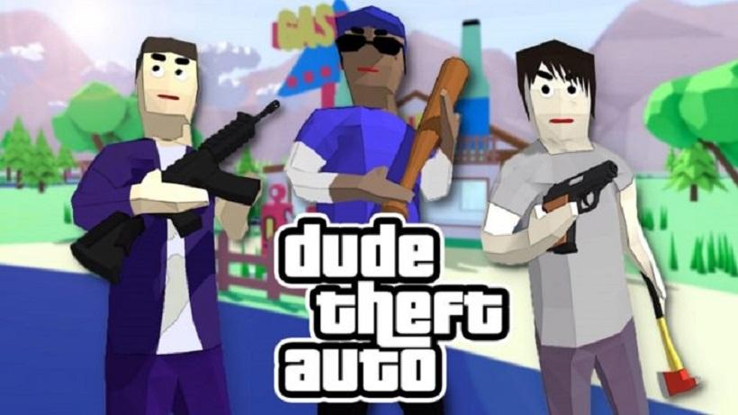 Dude Theft Auto: Open World Sandbox Simulator