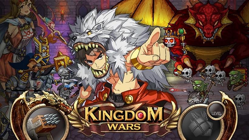 Verteidigt geschickt eure Burg in Kingdom Wars