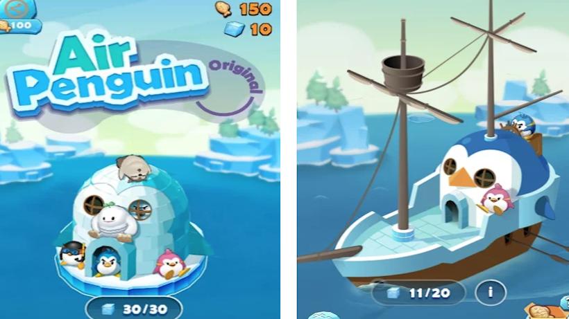 Mit Air Penguin Origin entkommt ihr der Hitze