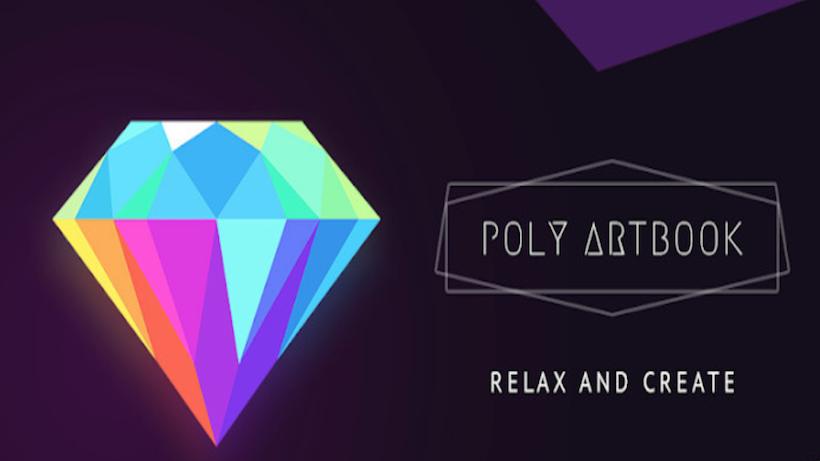 Poly Artbook lässt euch puzzeln und entspannen!
