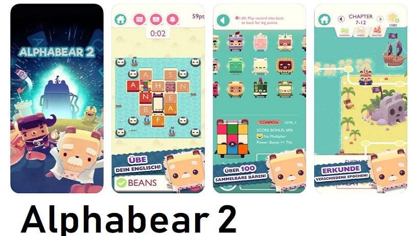 Alphabear 2 verbessert euer Englischvokabular!