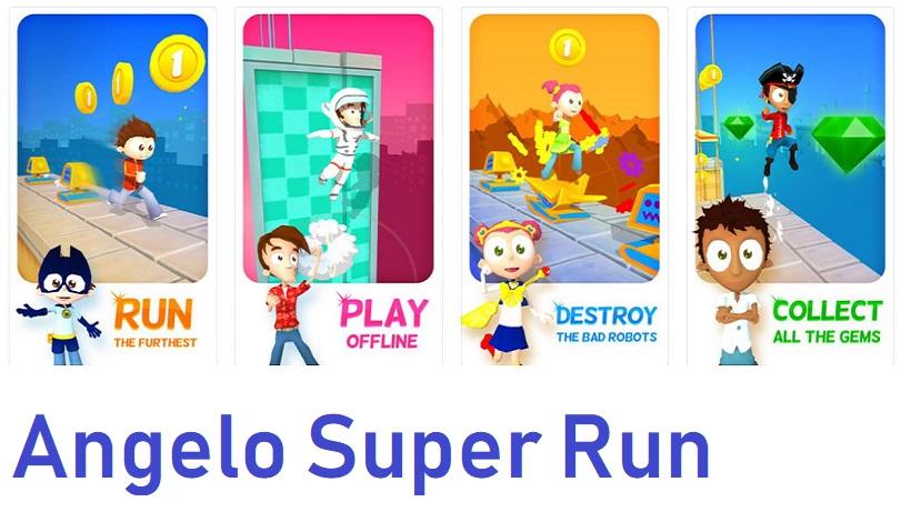 Rennt in Angelo Super Run zum Highscore!