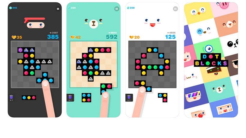 Dot Blocks ist immer noch eines meiner Lieblingsspiele