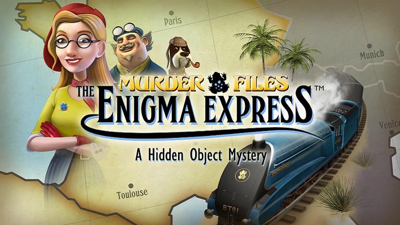 Wimmelt kostenlos in dem Spiel Enigma Express