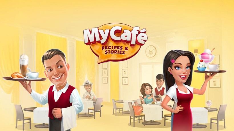 Für sehr geduldige SpielerInnen: Mein Café Rezepte und Stories