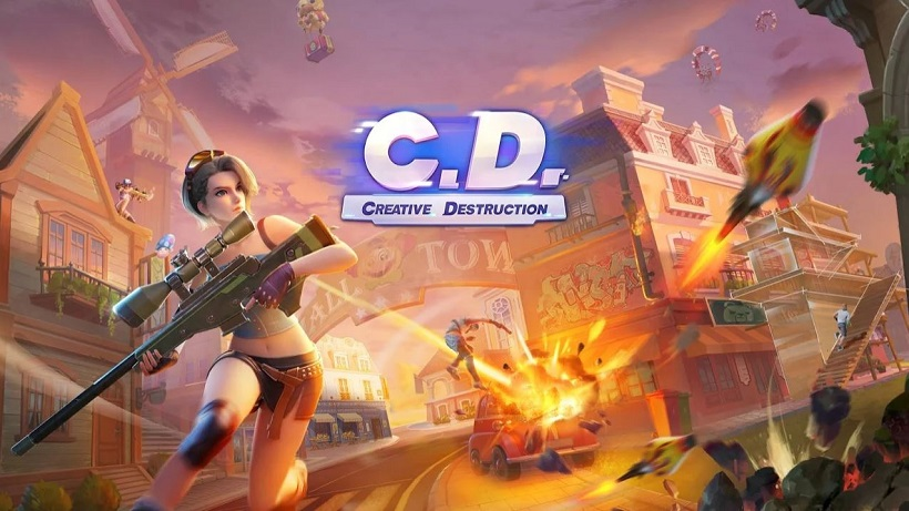 Creative Destruction ist ein riesiges Sandbox-Spiel
