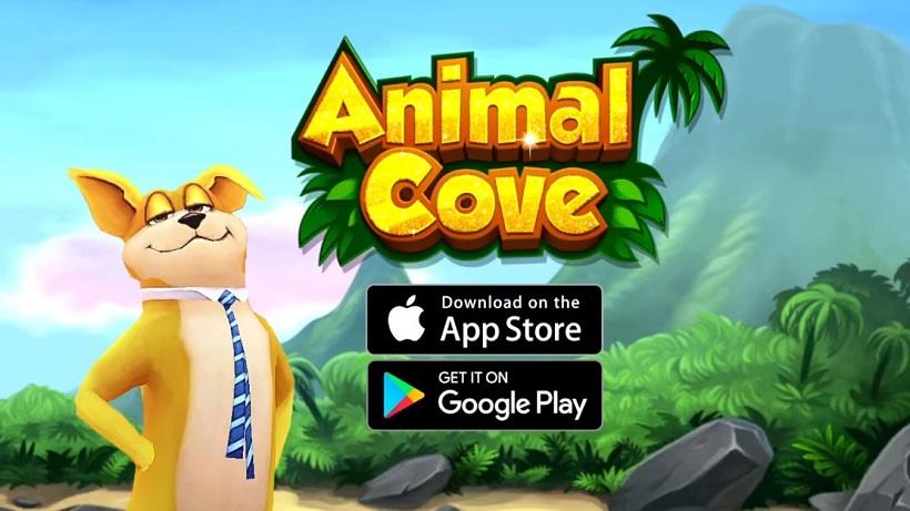 Spielt hier kostenlos Animal Cove – ein Spiel wie Homescapes