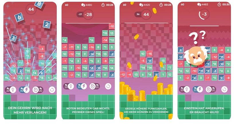Zahlen-Games wie Brain Fever liebe ich sehr!