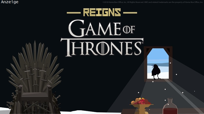 Reigns Game of Thrones basiert auf der Erfolgsserie