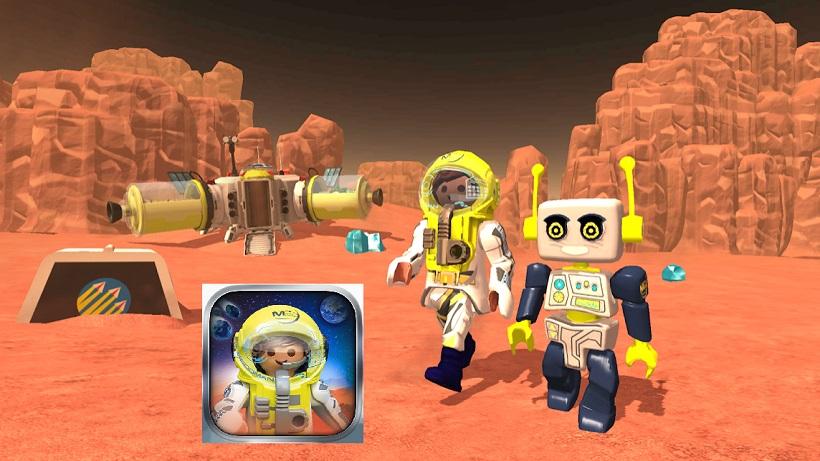 Spiele-App für Kids: PLAYMOBIL Mars Mission