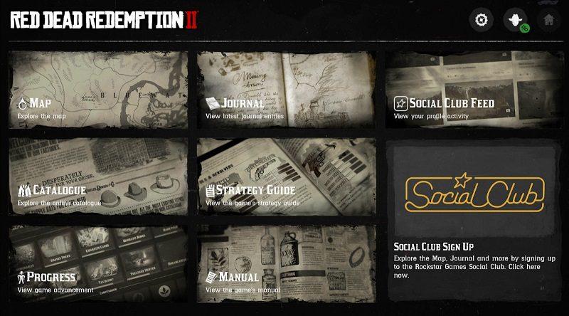 Die Companion-App zu Red Dead Redemption 2