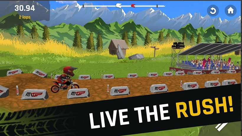 MXPG Motocross Rush