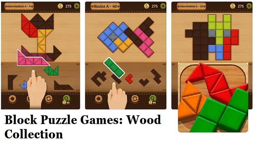 Spielt Block Puzzle Games: Wood Collection kostenlos