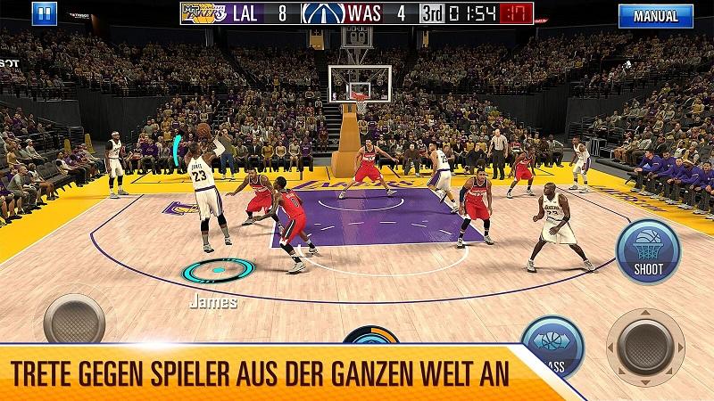 NBA 2K Mobile hat ein Update erhalten