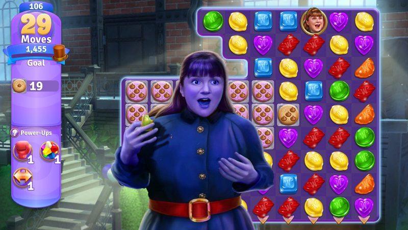 Wonkas Welt der Süßigkeiten