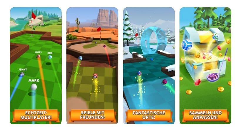 Golf Battle lässt euch in Echtzeit einlochen