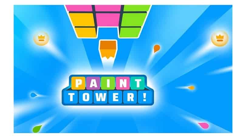 Eine knifflige Herausforderung: Paint Tower!
