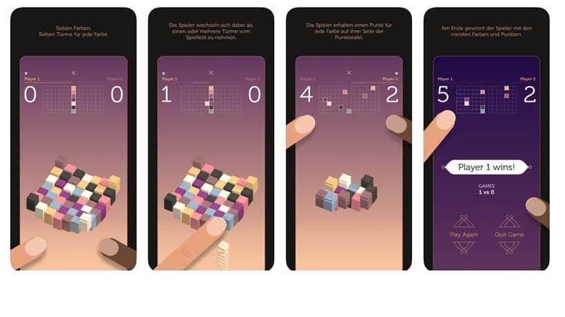 Sevn ist ein superschönes Denkspiel für iOS