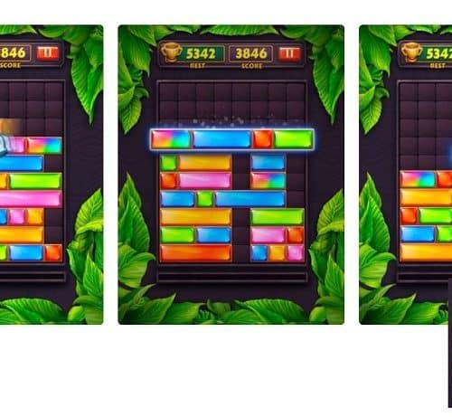 Jewel Blast – Block Drop Puzzle Game ist eine echte Herausforderung