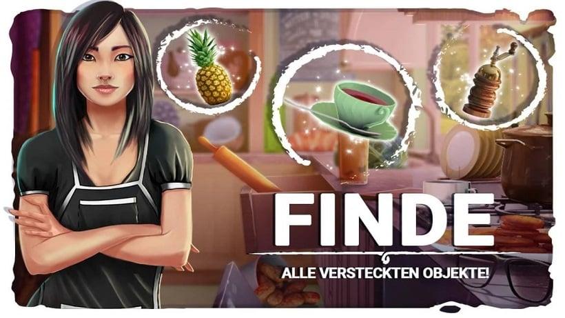 Kostenlose Spiele-Apps - das sind Bilder zum Spiel Wimmelbild Chaotische Küche