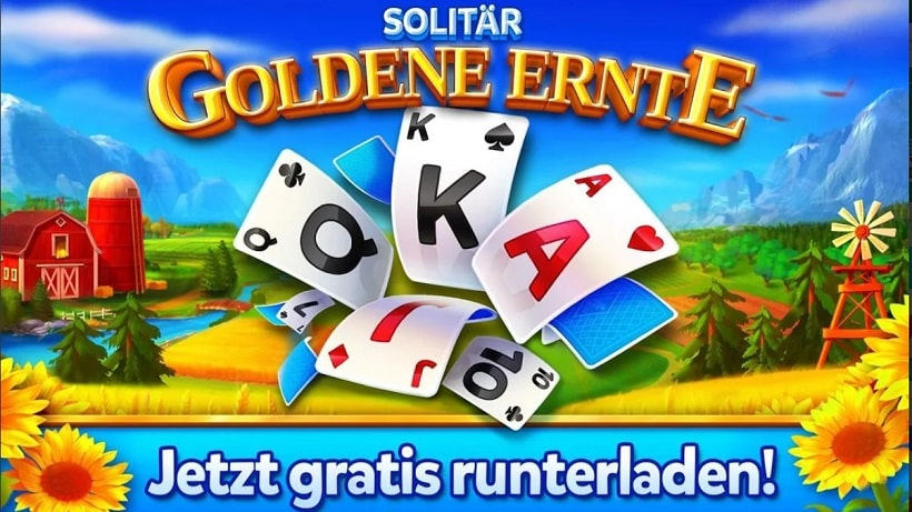 Solitär - Goldene Ernte