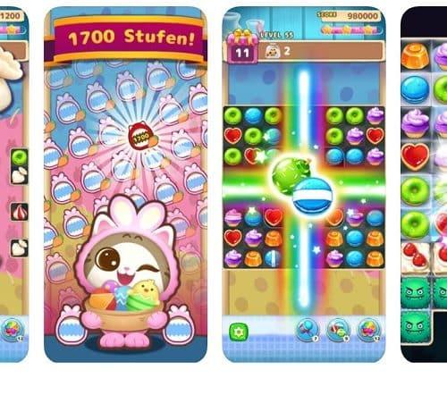 Ein entspanntes Match 3-Spiel: Sugar Pop – Master Puzzle