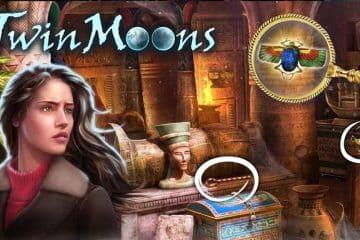 Twin Moons teleportiert in eine Halbwelt