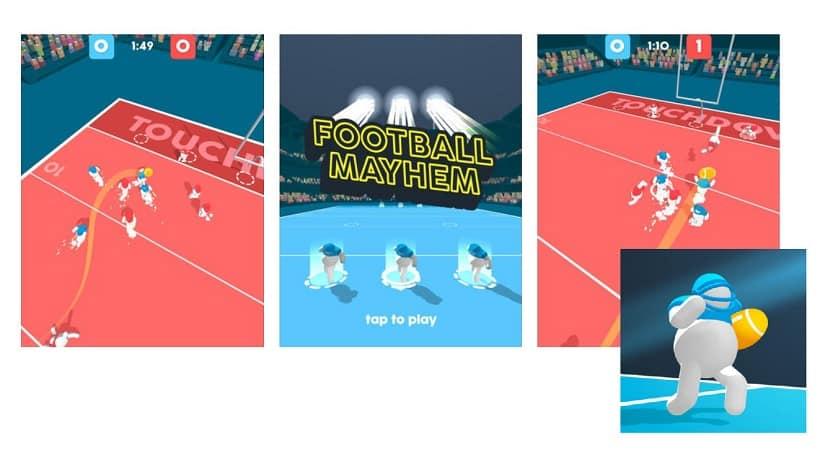 Ball Mayhem ist kein echtes American Football-Spiel
