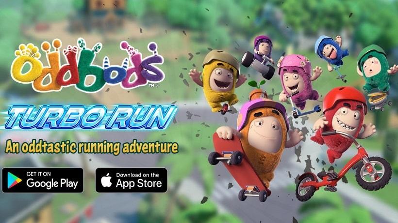 Oddbods Turbo Run feiert schon Halloween