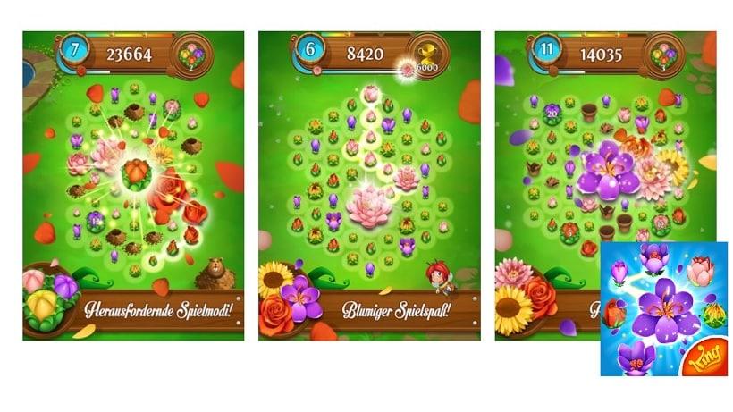 Blossom Blast Saga 3 ist ideal zum Frühlingsbeginn