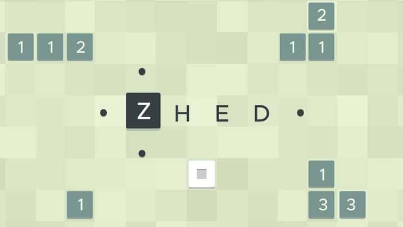 Hinter dem Gratisspiel ZHED versteckt sich ein kniffliges Puzzle!