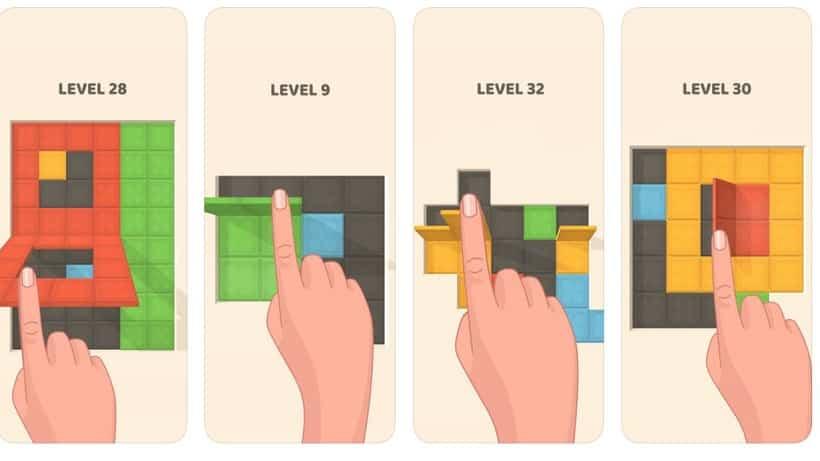 Folding Blocks ist eine knifflige Angelegenheit