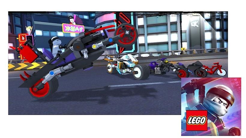 Bekämpft eure Gegner in LEGO® NINJAGO –Ride Ninja