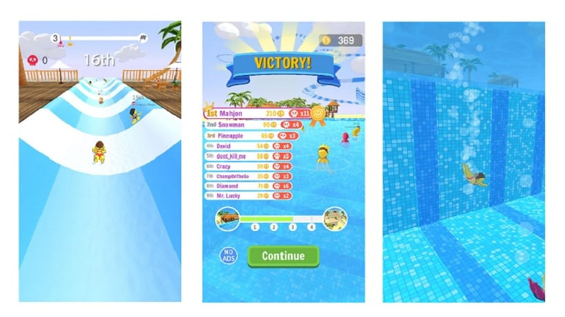 Es gibt eine neue Karte im Gratisspiel Aquapark.io