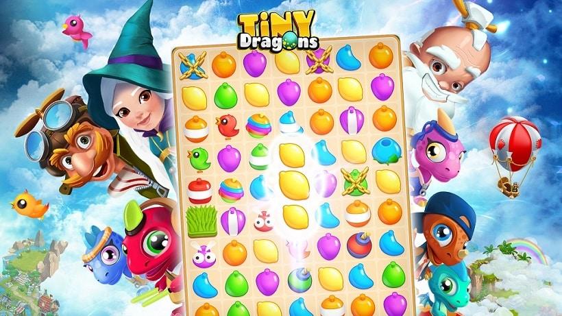 Tiny Dragons ist mehr als nur ein bezauberndes Match 3-Spiel