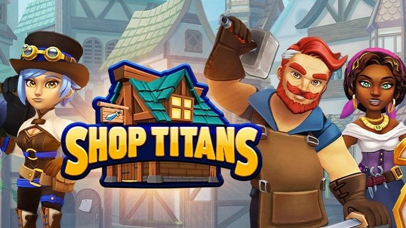 Shop Titans - Design und Trade