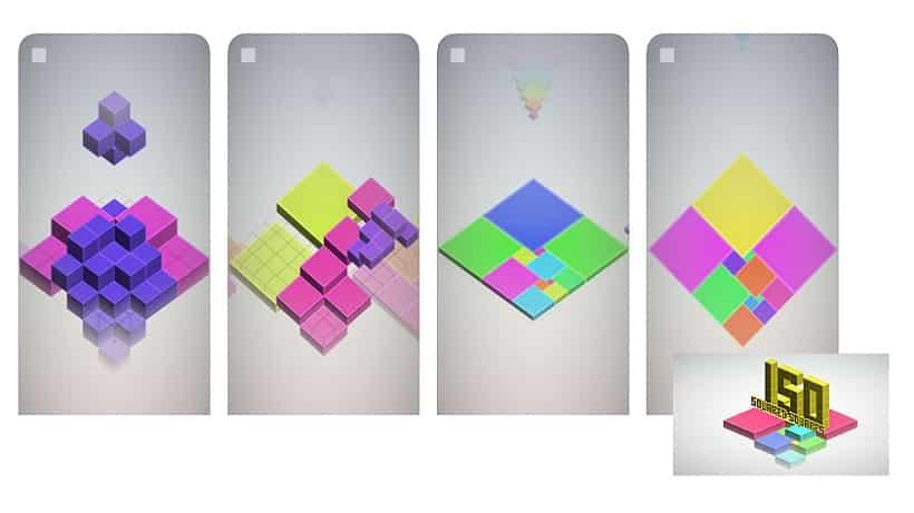 Seit heute erhältich: Isometric Squared Squares!