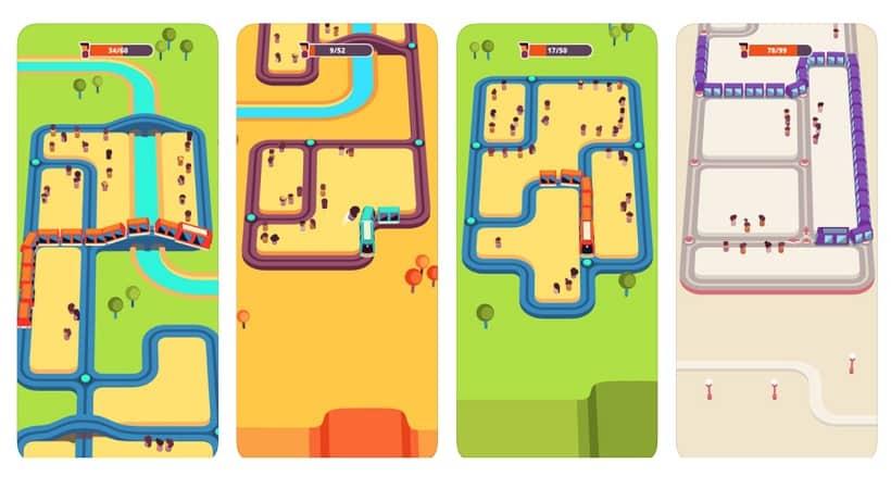 Ein Spiel wie Snake: Das kostenlose Train Taxi