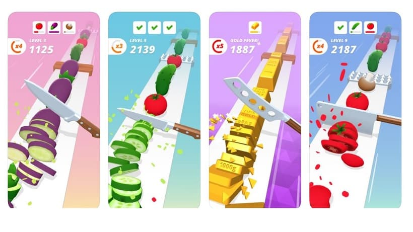 Schnibbelt euch in Perfect Slices zum Highscore